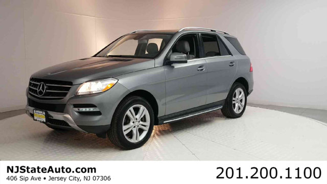 2015 MERCEDES M-CLASS ML 350 4MATIC 4DR ML350 CARFAX One-Owner Clean CARFAX Palladium Silver Meta