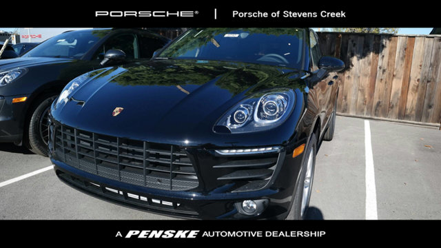 2017 PORSCHE MACAN AWD Black Beauty Come to the experts Who could say no to a simply outstanding