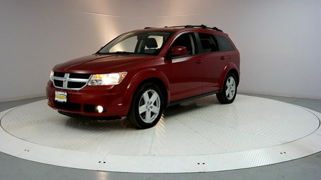 2009 DODGE JOURNEY AWD 4DR SXT CARFAX One-Owner Clean CARFAX Inferno Red Crystal Pearl 2009 Dodg