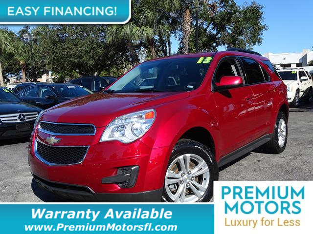 2013 CHEVROLET EQUINOX FWD 4DR LT W1LT LOADED CERTIFIED WARRANTY Dont Pay Retail Get low mon