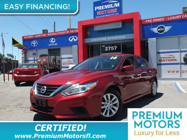 2016 NISSAN ALTIMA 4DR SEDAN I4 25 S LOADED CERTIFIED FACTORY WARRANTY Fully serviced just si