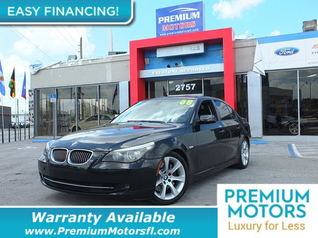 2008 BMW 5 SERIES 535I LOADED CERTIFIED WE SAVE YOU THOUSANDS Fully serviced just sign and dri