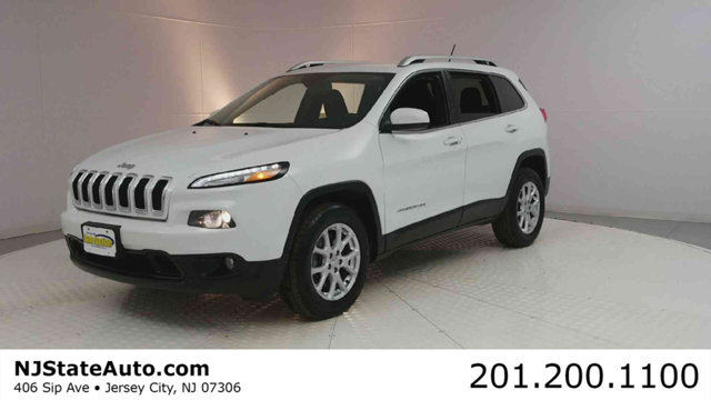 2014 JEEP CHEROKEE 4WD 4DR LATITUDE CARFAX One-Owner Clean CARFAX Bright White Clearcoat 2014 Jee
