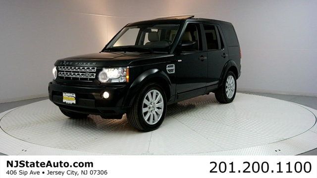 2013 LAND ROVER LR4 4WD 4DR HSE Clean CARFAX Black Metallic 2013 Land Rover LR4 HSE 4WD 6-Speed Z