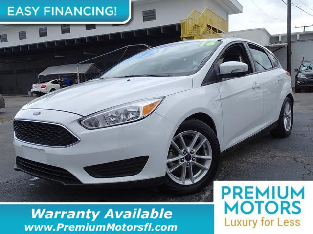 2016 FORD FOCUS 5DR HATCHBACK SE LOADED CERTIFIED FACTORY WARRANTY Fully serviced just sign an