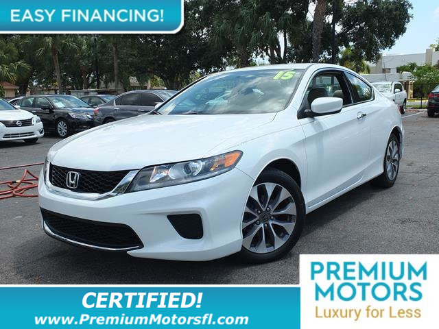 2015 HONDA ACCORD COUPE 2DR I4 CVT LX-S LOADED CERTIFIED FACTORY WARRANTY Fully serviced just