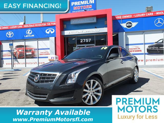 2014 CADILLAC ATS 4DR SEDAN 25L LUXURY RWD LOADED CERTIFIED WE SAVE YOU THOUSANDS Dont Pay Re