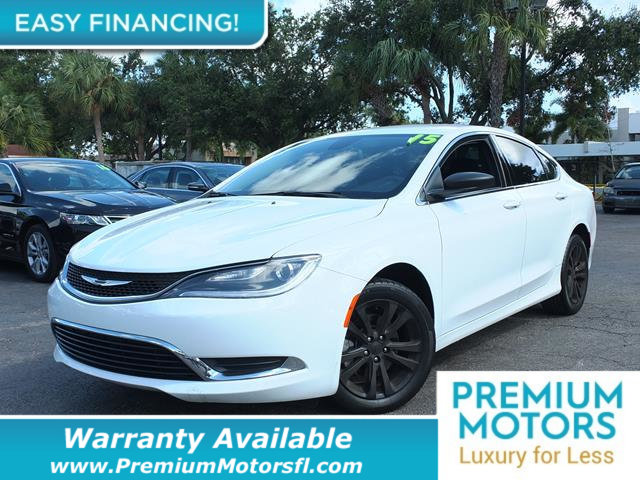 2015 CHRYSLER 200 4DR SEDAN LIMITED FWD LOADED CERTIFIED WARRANTY Dont Pay Retail Get low mon