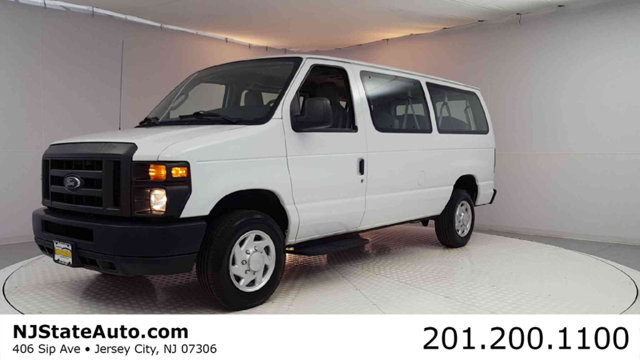 2013 FORD ECONOLINE WAGON E-350 SUPER DUTY XL CARFAX One-Owner Clean CARFAX Oxford White 2013 Fo