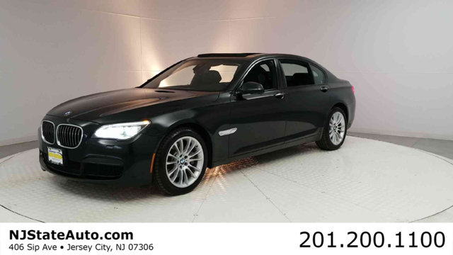 2013 BMW 7 SERIES 750LI XDRIVE CARFAX One-Owner Clean CARFAX Black Sapphire Metallic 2013 BMW 7