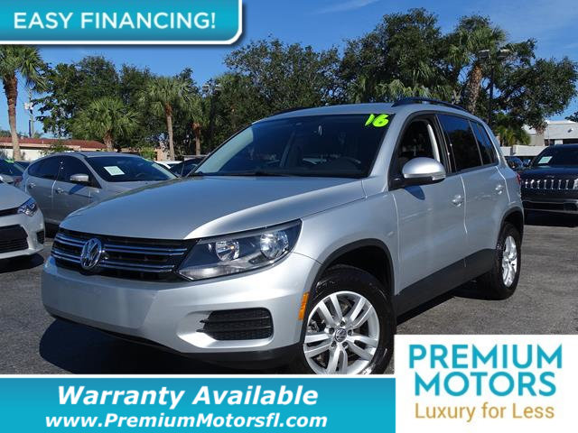 2016 VOLKSWAGEN TIGUAN  BUY WITH CONFIDENCE CARFAX 1-Owner Tiguan and CARFAX Buyback Guarantee qu