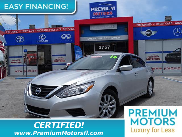 2016 NISSAN ALTIMA  LOADED CERTIFIED WE SAVE YOU THOUSANDS Fully serviced just sign and d