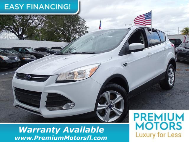 2016 FORD ESCAPE 4WD 4DR SE LOADED CERTIFIED FACTORY WARRANTY Fully serviced just sign and dri