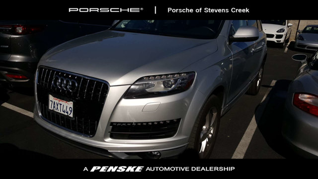 2014 AUDI Q7 QUATTRO 4DR 30T PREMIUM PLUS Willingly carries the load Enjoy the satisfaction of a