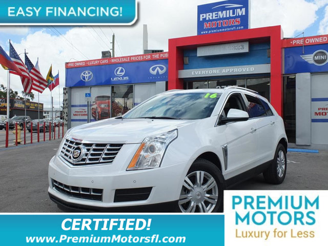 2016 CADILLAC SRX FWD 4DR LUXURY COLLECTION LOADED CERTIFIED MINT CONDITION and 1000s Below Ret