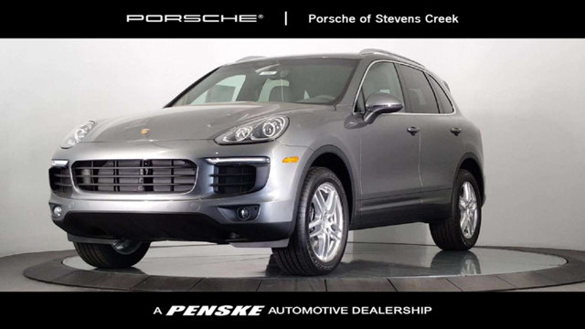 2018 PORSCHE CAYENNE AWD LOADED WITH VALUE Comes equipped with 14-Way Power Seats Agate Grey P