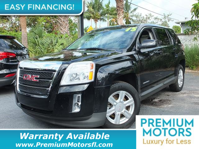 2015 GMC TERRAIN FWD 4DR SLE WSLE-1 LOADED CERTIFIED WE SAVE YOU THOUSANDS Fully serviced