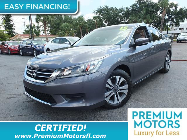 2015 HONDA ACCORD SEDAN 4DR I4 CVT LX LOADED CERTIFIED FACTORY WARRANTY Fully serviced just si