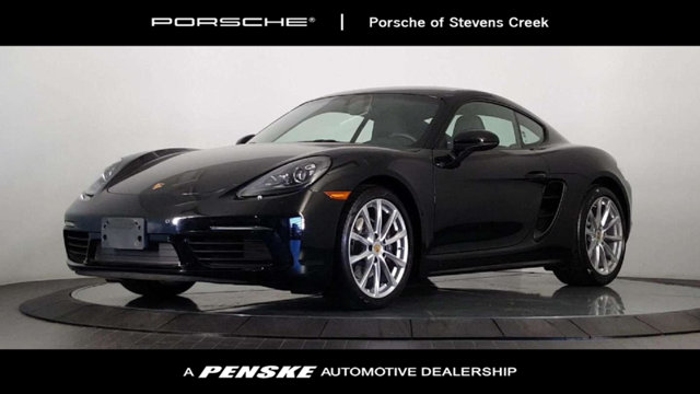 2017 PORSCHE 718 CAYMAN 2DR CPE Black Beauty This one owner vehicle is really a thing to behold