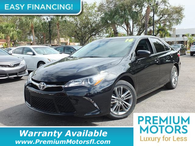 2016 TOYOTA CAMRY 4DR SEDAN I4 AUTOMATIC SE LOADED CERTIFIED WE SAVE YOU THOUSANDS Dont Pay Re