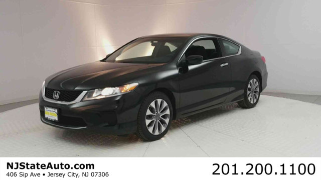 2015 HONDA ACCORD COUPE 2DR I4 CVT LX-S CARFAX One-Owner Clean CARFAX Crystal Black Pearl 2015 H