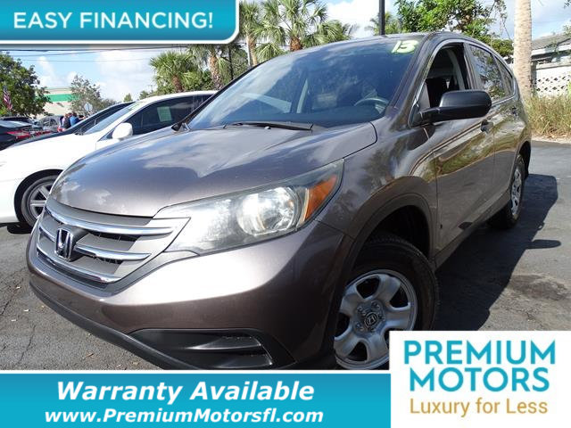 2013 HONDA CR-V 2WD 5DR LX BUY AND DRIVE WORRY FREE Own this CARFAX 1-Owner and Buyback Guarantee
