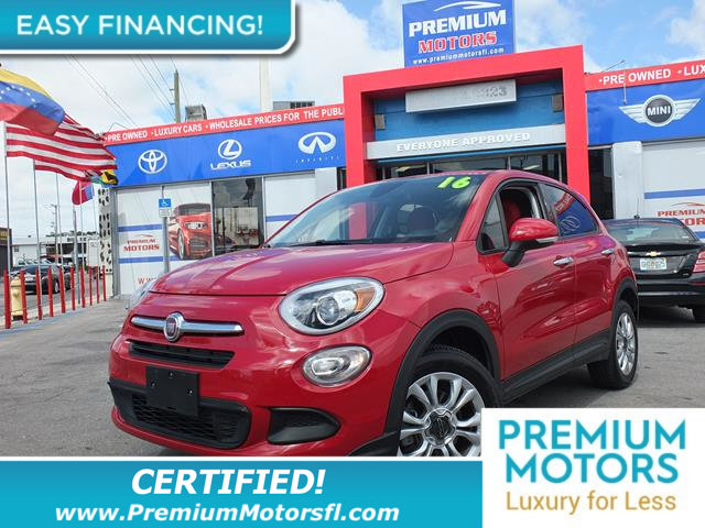 2016 FIAT 500X AWD 4DR EASY LOADED CERTIFIEDFACTORY WARRANTY Fully serviced just sign and