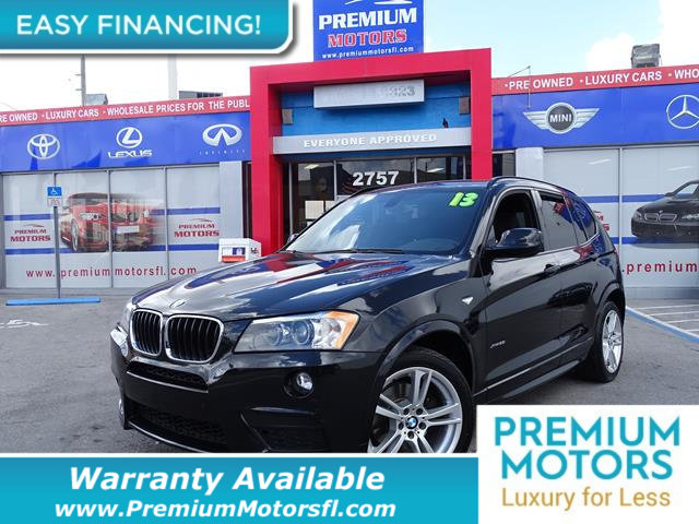 2013 BMW X3 XDRIVE28I LOADED CERTIFIED WE SAVE YOU THOUSANDS Fully serviced just sign and driv