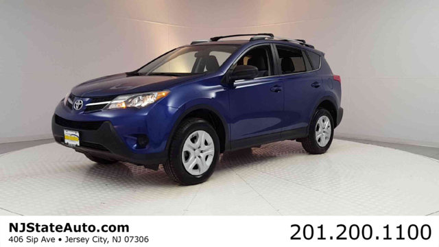 2014 TOYOTA RAV4 4WD 4DR LE CARFAX One-Owner Clean CARFAX Blue 2014 Toyota RAV4 LE AWD 6-Speed Au