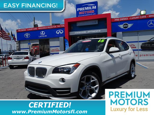 2015 BMW X1 SDRIVE28I REST EASY With its 1-Owner  Buyback Qualified CARFAX report you can rest