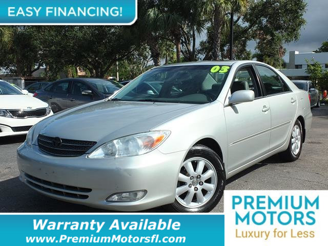 2003 TOYOTA CAMRY  LOADED CERTIFIED WARRANTY Dont Pay Retail Get low monthly payments on this