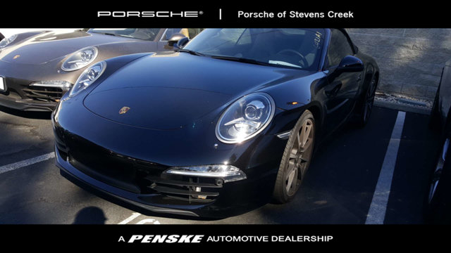 2012 PORSCHE 911 2DR CAB CARRERA Porsche Certified Its a portable party Low miles mean a long l