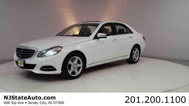 2015 MERCEDES E-CLASS 4DR SEDAN E 350 SPORT 4MATIC CARFAX One-Owner Clean CARFAX Diamond White 2