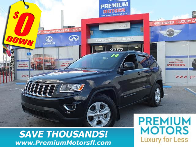 2014 JEEP GRAND CHEROKEE RWD 4DR LAREDO LOADED CERTIFIED MINT CONDITION At Premium Motor