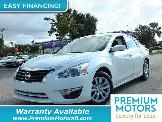 2014 NISSAN ALTIMA 4DR SEDAN I4 25 S LOADED CERTIFIED WE SAVE YOU THOUSANDS Fully serviced ju