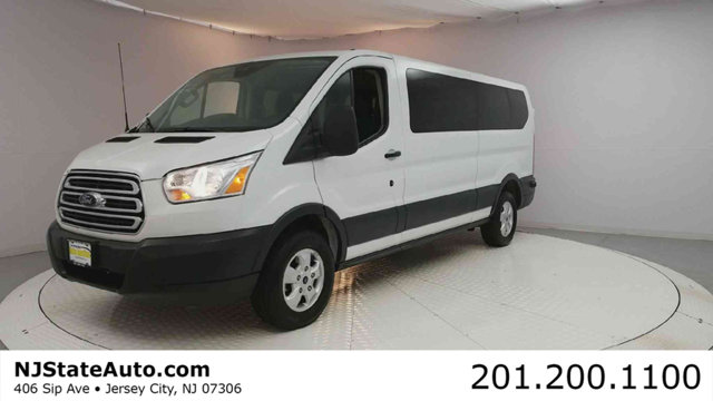 2017 FORD TRANSIT WAGON T-350 148 LOW ROOF XLT SLIDING  CARFAX One-Owner Clean CARFAX Oxford Wh
