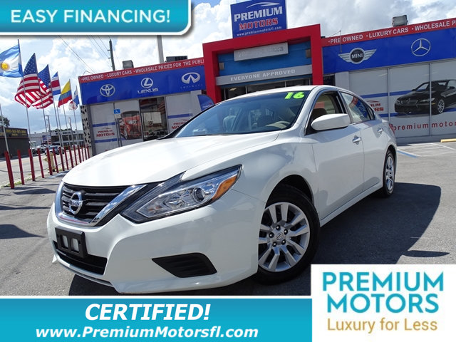 2016 NISSAN ALTIMA 4DR SEDAN I4 25 S NISSAN FOR LESS SAVE THOUSANDS At Premium Motors we have