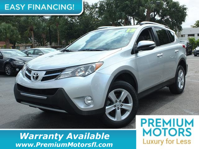 2013 TOYOTA RAV4 FWD 4DR XLE LOADED CERTIFIED WARRANTY Dont Pay Retail Get low monthly paymen