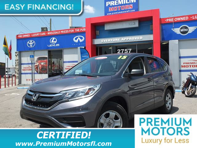 2015 HONDA CR-V 2WD 5DR LX LOADED CERTIFIEDFACTORY WARRANTY Fully serviced just sign and