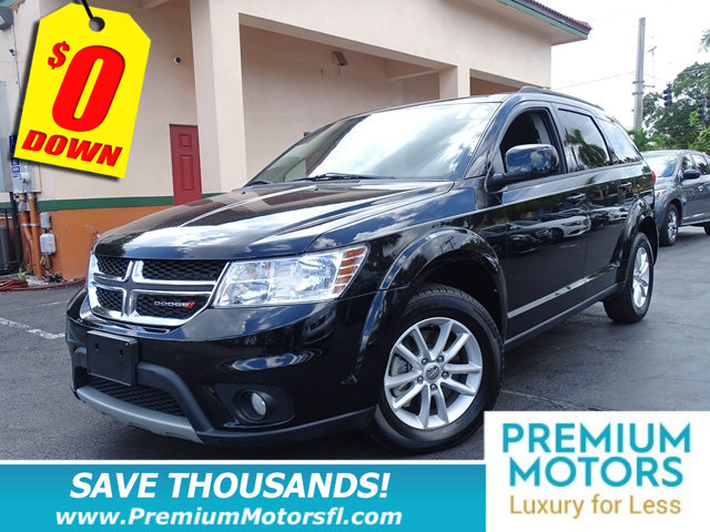 2016 DODGE JOURNEY FWD 4DR SXT LOADED SAVE THOUSANDS At Premium Motors