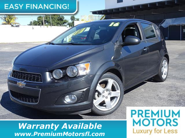 2016 CHEVROLET SONIC 5DR HATCHBACK AUTOMATIC LTZ LOADED CERTIFIED WE SAVE YOU THOUSANDS Dont P