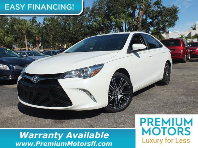 2016 TOYOTA CAMRY  LOADED CERTIFIED WE SAVE YOU THOUSANDS  Dont Pay Retail Get low monthly p