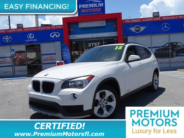 2015 BMW X1 SDRIVE28I HUGE SALE FACTORY WARRANTY At Premium Motors we have relationships with
