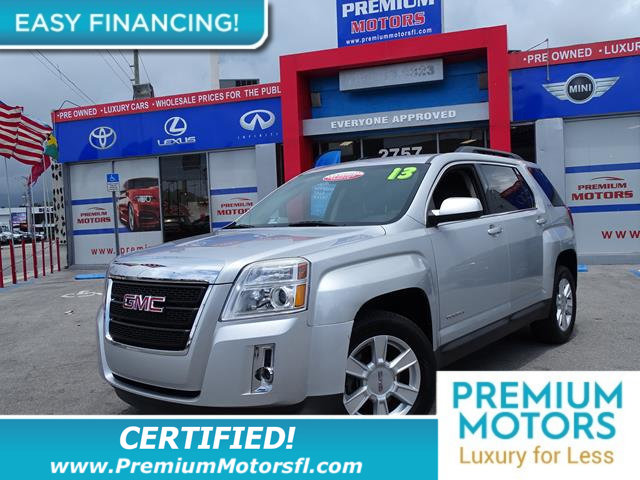 2013 GMC TERRAIN FWD 4DR SLE WSLE-2 LOADED CERTIFIED WE SAVE YOU THOUSANDS Fully serviced jus