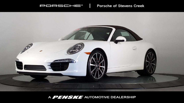 2015 PORSCHE 911 2DR CABRIOLET CARRERA S One-owner A real joy ride Do you want it all especiall