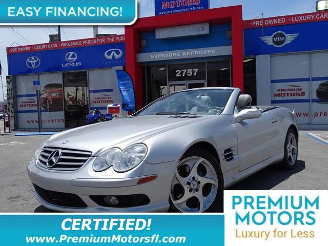 2005 MERCEDES SL-CLASS SL500 2DR ROADSTER 50L LOADED CERTIFIED WE SAVE YOU THOUSANDS Full