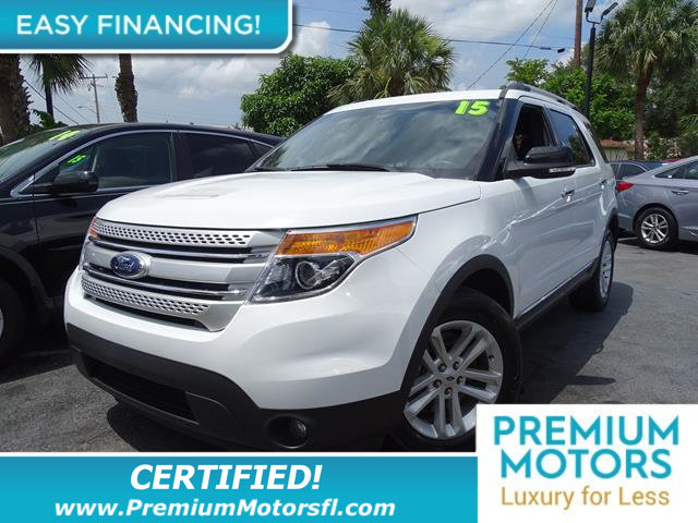 2015 FORD EXPLORER FWD 4DR XLT LOADED CERTIFIEDFACTORY WARRANTY Fully serviced just sign