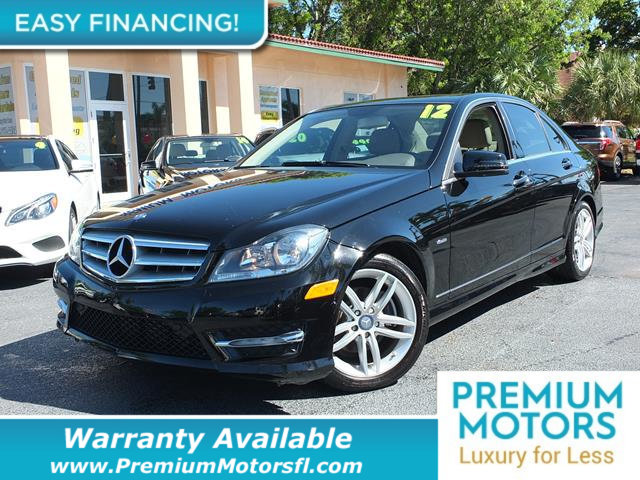2012 MERCEDES C-CLASS  LOADED CERTIFIED WARRANTY Dont Pay Retail Get low monthly payments on