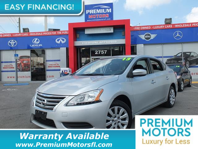 2015 NISSAN SENTRA  LOADED CERTIFIED FACTORY WARRANTY Fully serviced just sign and drive Don