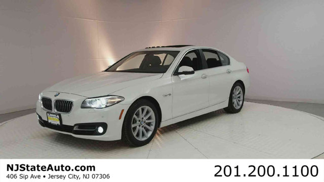 2015 BMW 5 SERIES 535I XDRIVE CARFAX One-Owner Alpine White 2015 BMW 5 Series 535i xDrive AWD 8-Sp